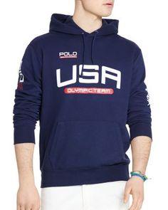 POLO RALPH LAUREN Team Usa Fleece Hoodie.  poloralphlauren  cloth  hoodie  Equipo De 2f24e2112aaba