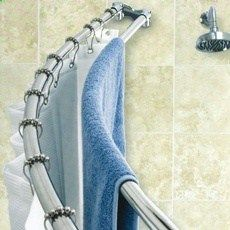 This is such a practical idea! Hide my towels behind the curtain and have a…