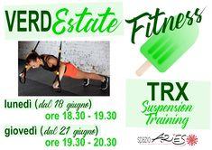 TRX  rock your #summer ! #trx allenamento in sospensione per l' #estate2018 !   info@spazioaries.it 0287063326 3420175218