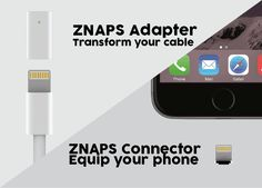 Znaps adds a magnetic charging port to any smartphone - https://www.aivanet.com/2015/07/znaps-adds-a-magnetic-charging-port-to-any-smartphone-2/