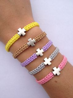 Hey, I found this really awesome Etsy listing at https://www.etsy.com/listing/127183852/macrame-bracelet-with-silvergold-cross