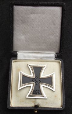 Adolf Hitler reinstituted the Iron Cross as a German war time award for distinguished actions in battle