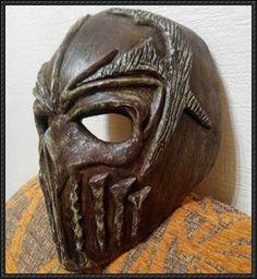 Mushroomhead Mask Papercraft Free Template Download - http://www.papercraftsquare.com/mushroomhead-mask-papercraft-free-template-download.html