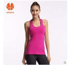 Samyama Brand pink t shirt women fall and winter apparel Blouses Round neck word Vest straps  women tops clothing