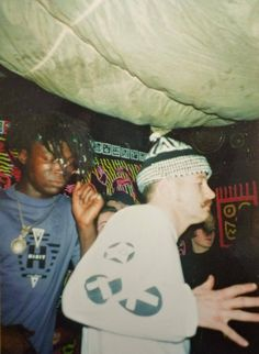 Seal @ Brain Club, London Brain Club, wall art by Mark Wigan House Music, Music Is Life, Grunge Party, Roman Photo, Circus Outfits, Polaroid, Acid House, Vintage Soul, Club Kids