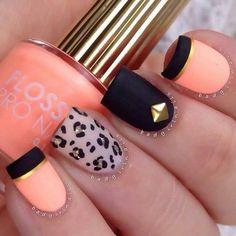 137 Mejores Imagenes De Unas Mate Pretty Nails Nail Polish Art Y