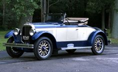 1926 Chandler Comrade Roadster - Chandler Motor Car Co. Cleveland, Ohio 1913-1929