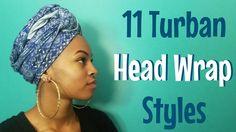 11 Ways to Tie a Turban Headwrap