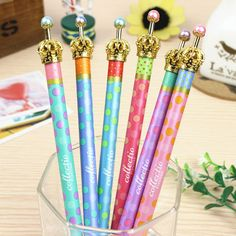 0.5mm Cute Kawaii Metal Crown Ballpoint Pen Dot Ball Point Pens for Writing  Stationery School Office Supplies Free shipping 424 #>=#>=#>=#>=#> Click on the pin to check out discount price, color, size, shipping, etc. Save and like it!