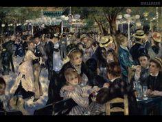 Renoir, Pierre-Auguste. O baile de moulin de la gallete. Impressionismo