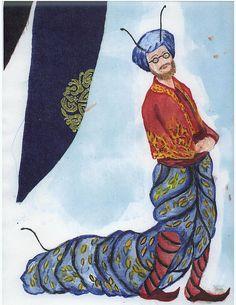 The PlayGround Theatre - Alice's Adventures in Wonderland design sketches by Miami Theater Center, via Flickr