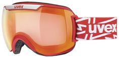 uvex downhill 2000 VM // The lush over-sized uvex Downhill 2000 variomatic goggles just look fantastic. In powder it scores points with its frameless construction. Even the heavier spray will glide easily off the goggle without sticking to the frame or affecting your sight