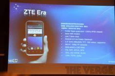 ZTE Era  ZTE - Chinese Manufacturer  INTEL just released strategic cooperation!