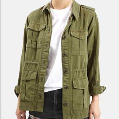 Top Shop Utility Jacket Supersoft! Worn once. Bought from Nordstrom. I do not trade Topshop Jackets & Coats Utility Jackets