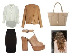 """""""Work"""" by marianaraposo on Polyvore featuring BCBGMAXAZRIA, Taylor, See by Chloé and Rebecca Minkoff"""