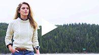 fisherman sweater from LLBean