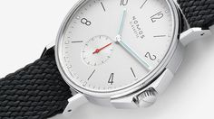 Nomos Glashütte is a German luxury watch-making company, they make minimal, elegant, top-quality watches. NOMOS watches are classic and timeless in beauty and last a lifetime, they are appropriate for every time and every setting. Cool Watches, Watches For Men, Men's Watches, Simple Watches, Fine Watches, Mens Style Guide, Telling Time, Beautiful Watches, Style Guides