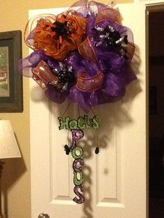 My new Halloween wreath