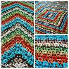 Petals to Picots Crochet: Kaleidoscope Afghan Pattern