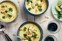 Chilled Coconut Corn Soup recipe