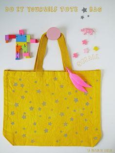 DIY Tote star bag {small} by La maison de Loulou