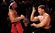 Bolo Yeung and Jean-Claude Van Damme in Bloodsport, 1988.     Jean-Claude Van Damme double set for Hollywood reboot. Remakes of Bloodsport and Kickboxer – 80s martial arts films that made Van Damme's name – heading for big screen soon.