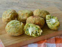 Polpette di zucchine e mozzarella