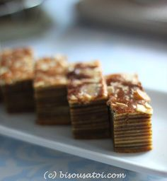 Lapis Legit Ny Liem Indonesian Desserts, Indonesian Food, Indonesian Recipes, Lapis Legit, Layer Cake Recipes, Layer Cakes, Resep Cake, Caramelized Bacon, Traditional Cakes