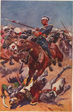 """Illustration from """"The Book of the Thin Red Line"""""""