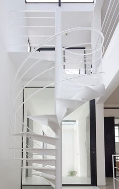 Spiral Staircase Design ByAviad Bar-Ness architecture
