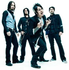 """Papa Roach: Their music is is incredible, they put on an amazing concert in SSM last year! """"I'm bleeding out the mouth, I hope you know I'm stronger now. I'm taking the hate, I'm turning it all around. I won't go down 'til I'm six feet underground."""" - Kick In The Teeth"""