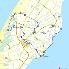 Fietsroute: De Waal, De Koog en Oudeschild  (http://www.route.nl/fietsroutes/130960/De-Waal-De-Koog-en-Oudeschild/)