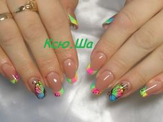 Fancy Nails, Cute Nails, Pretty Nails, Elegant Nails, Stylish Nails, Cute Acrylic Nails, Gel Nails, Spring Nails, Summer Nails