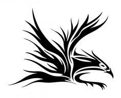 Tribal Eagle Tattoo Designs Free Designs Gallery Design 766x626 Pixel