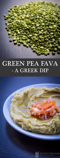 Green Pea Fava - {NEW RECIPE} This green pea fava recipe is ideal for vegans as a warm starter, toast spread or dip. Brighten up your meals, vegetables, salad and meat dishes, or serve on a meze platter with fresh pita bread.