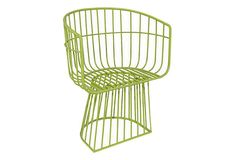 Great garden chairs!  Bistro Chair, Lime Green on OneKingsLane.com