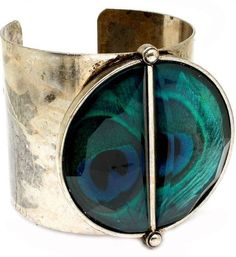 Peacock cuff ( unable to locate artist - original pinner did not list)