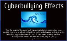 Cyber Bullying - 31 Free Images by Michael Nuccitelli, Psy. Cyber Bullying Pictures, Stop Cyber Bullying, Cyberbullying Prevention, Effects Of Bullying, Bullying Quotes, Information And Communications Technology, Internet Safety, Cause And Effect, Psychology