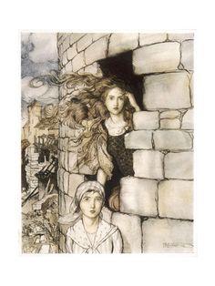 Art.fr - Arthur Rackham - posters et peintures pour amoureux d'art