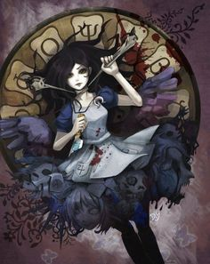 We're all mad here. Alice madness returns