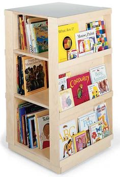 childrens bookcase kids bookcase - library book display-childrens bookcases FRIKFWH - Home Decor Ideas Library Bookshelves, Kids Bookcase, Bookshelf Design, Bookcases, Bookshelf Plans, Bookcase Storage, Revolving Bookcase, Childrens Bookcase, Library Book Displays