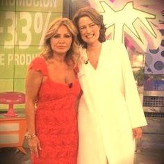 Con Cristina Tárrega, una gran profesional.