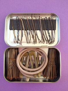 Just put you hair pins in a old/used altoids container to keep them safe until the next performance. This is a great idea, I only wish that I could of found it sooner.