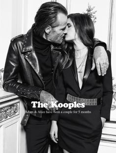 Alice & Adam for The Kooples FW13 #thekooples #campaign