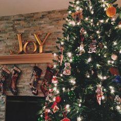 Christmas. New Year. Winter. Christmas Tree. Fireplace. Joy. Socks.