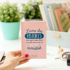 Livre des histoires rien qu'à nous deux qui font tout le sel de notre amitié