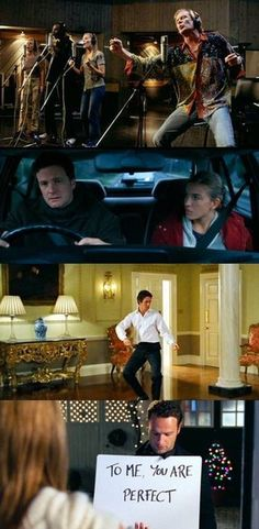 Love Actually - some parts if it are....questionable to put it lightly...but the story line is absolutely fantastic. Such a deep movie about love.