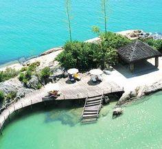 Resort Ponta dos Ganchos, Santa Catarina, Brazil.