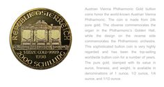 Austrian Philharmonic coin from our collection.