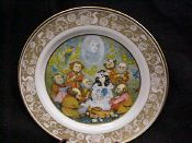 Mother Goose Series - Diddle Diddle Dumpling by John McClelland #FairyTale #ChildrenStories #FairyTales #CollectorPlates #Collectable #Vintage #CollectablePlate #FairyTalePlate #MotherGoose #DiddleDiddleDumpling